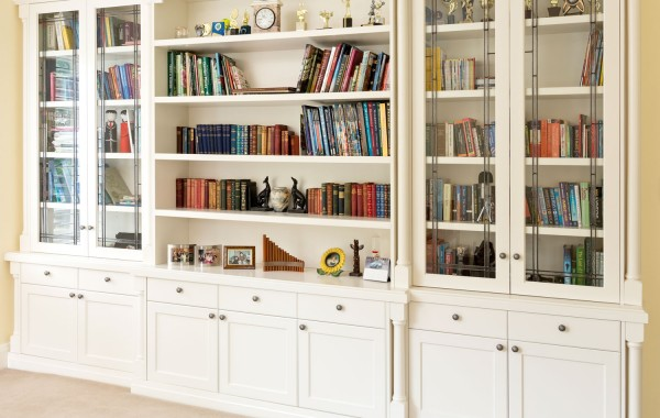 Built In Bookshelves Period Balwyn