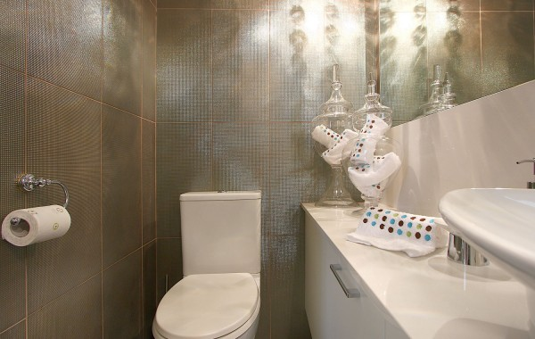 Powder Room Modern Donvale